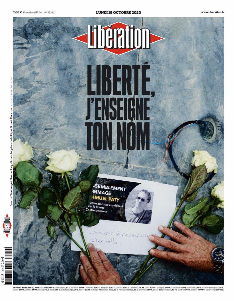 couverture de Liberation